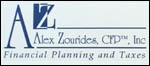 Alex Zourides - Financial Planning & Taxes website